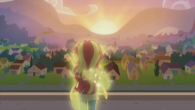 File:Sunset Shimmer looks over the city EG2.png