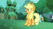 """Applejack"" says Zecora's name S5E26"