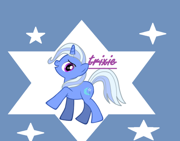 File:FANMADE Trixie on a starry background.png
