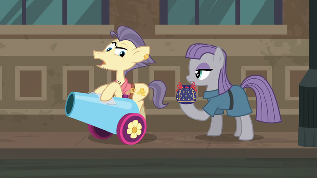 "File:Pouch Pony ""all sales are final"" S6E3.png"