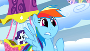 Rainbow Dash's reaction to the Wonderbolts S01E16