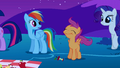 Rainbow Dash looks at Scootaloo S1E24.png