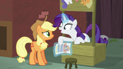"Rarity ""the contact on the flyer is Coco Pommel!"" S5E16.png"