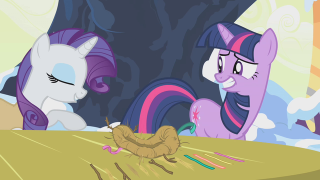 File:Rarity nudging Twilight aside S1E11.png