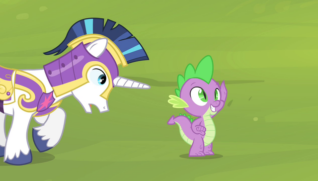 """File:Shining Armor """"what are you doing?"""" S4E24.png"""