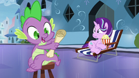 "Spike ""an important lesson to do"" S6E1"