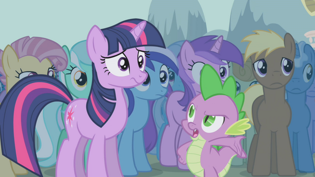 File:Spike telling Twilight it's up to her S1E06.png
