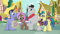 Collector ponies with their signed journals S7E14.png