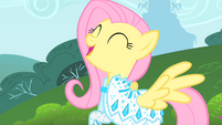 Fluttershy happy S1E20