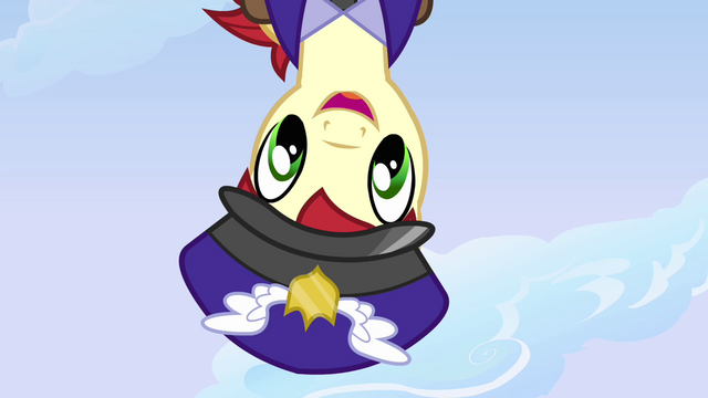 File:Mail pony from Dash's point of view S3E7.png