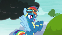 "Rainbow Dash ""shoot off a lightning bolt"" S6E7"