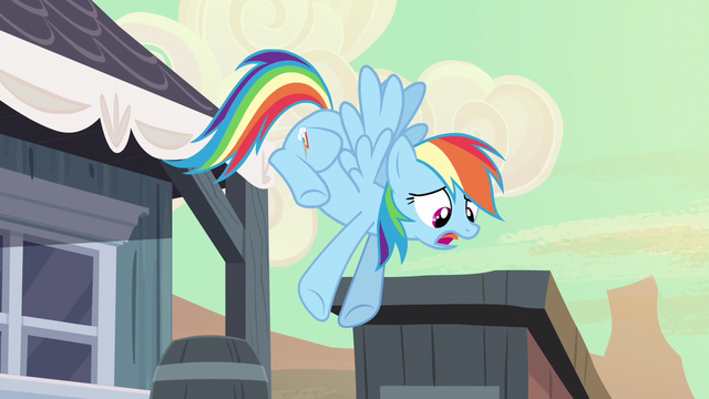 File:Rainbow Dash to Ponyville S2E14.png