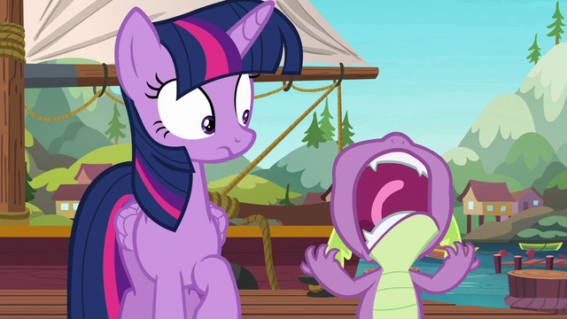 File:Spike lets out a cry of frustration S6E22.png