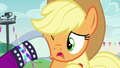 Countess Coloratura gives hoofsie to Applejack S5E24.png