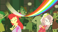 Rainbow Dash's rainbow streak EG