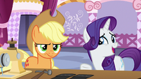 "Rarity ""not a very practical choice"" S7E9"