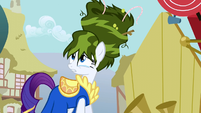 Rarity green hair S1E6