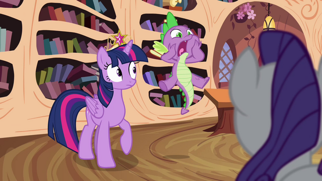 "File:Spike blurts out ""they're missing!"" S4E01.png"