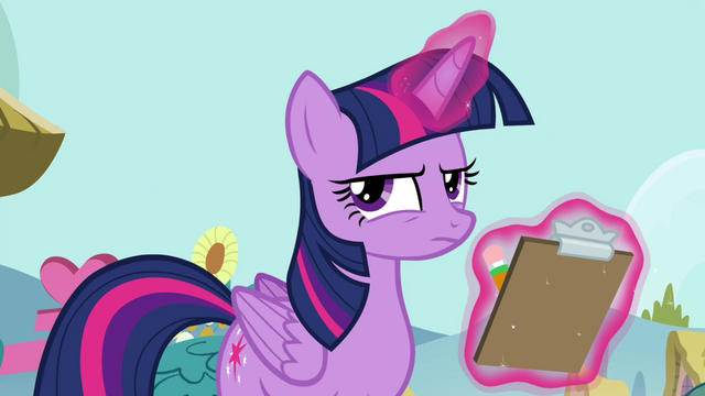 File:Twilight with her checklist S4E21.png