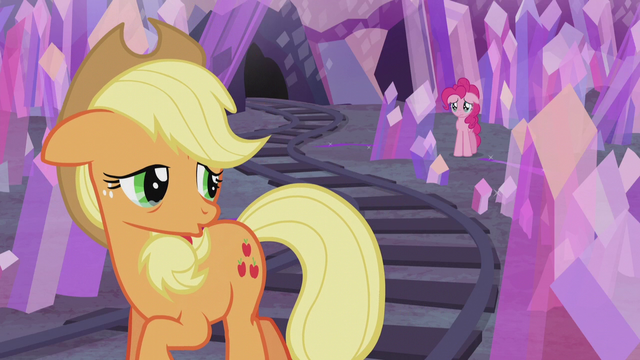 "File:Applejack tearful ""you too"" S5E20.png"