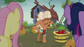 Ma Hooffield tossing a tomato aside S5E23.png
