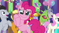 Pinkie Pie crying tears of joy S7E1.png