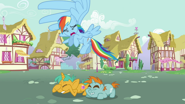 File:Snips and Snails cowering down from Rainbow Dash S3E05.png