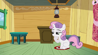 Sweetie Belle thinking S3E04