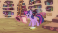 Twilight let's see here S3E13