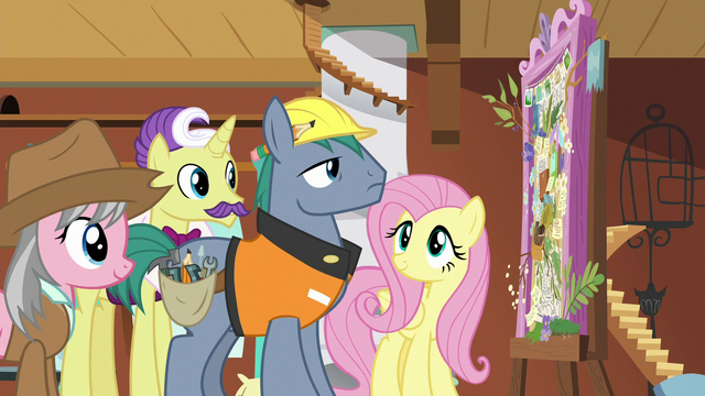 File:Expert ponies look at Fluttershy's dream board S7E5.png