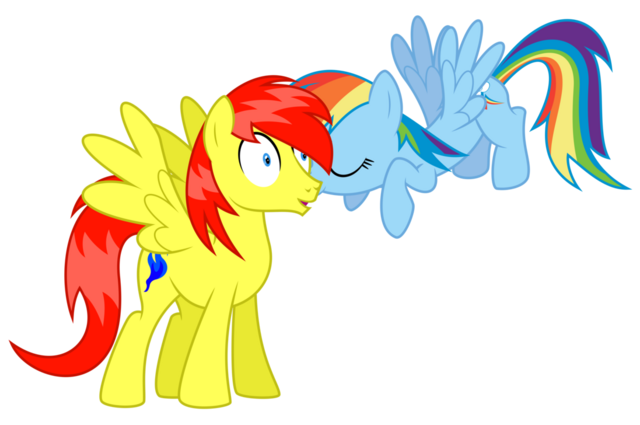 File:FANMADE Crimson Azure getting kissed by Dash.png