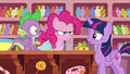 "Pinkie Pie ""I guess Rarity had other ideas"" S6E22.png"