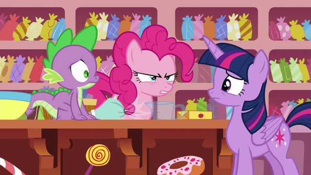 """File:Pinkie Pie """"I guess Rarity had other ideas"""" S6E22.png"""