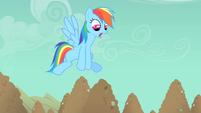 Rainbow Dash needs to go faster S1E19