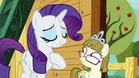 "Rarity ""tend to get carried away"" S7E6"