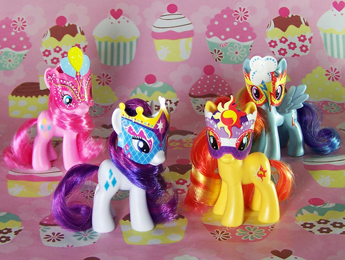 File:Masquerade Playful Ponies first set.jpg