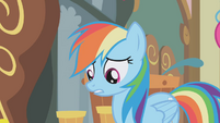"Rainbow Dash ""I didn't know how rude she was"" S1E05"