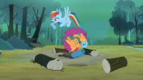 Scootaloo in mid air S3E6