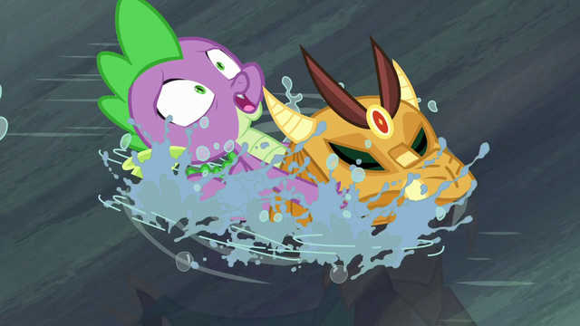 File:Spike saves armored dragon from drowning S6E5.png