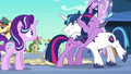 Twilight and Shining Armor hugging S6E1.png
