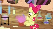 Apple Bloom mixes one last potion S4E15