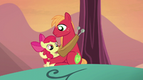 Apple Bloom wondering what to do S5E17