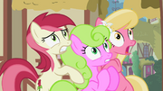 Flower ponies frightened S2E06