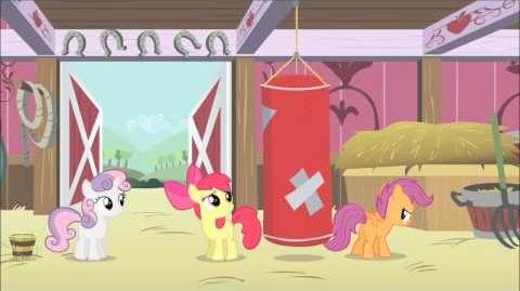 French My Little Pony Hearts strong as horses HD