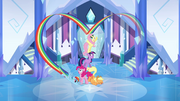 Main ponies final cheer pose S03E12