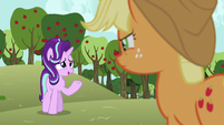 "Starlight ""friends with somepony who doesn't talk"" S6E6"