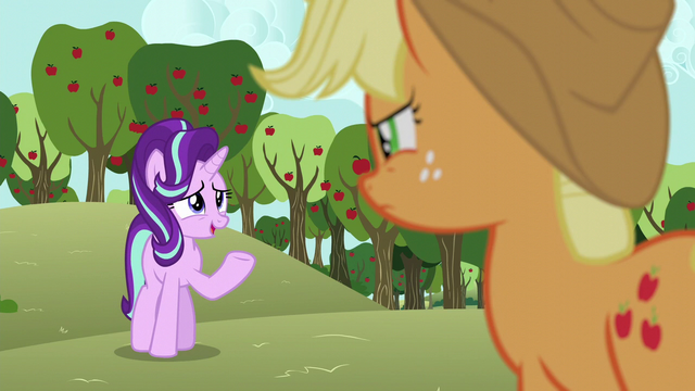 """File:Starlight """"friends with somepony who doesn't talk"""" S6E6.png"""
