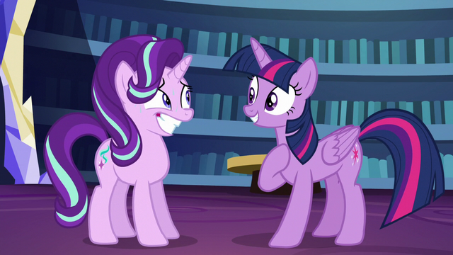"File:Twilight Sparkle ""I know!"" S6E1.png"