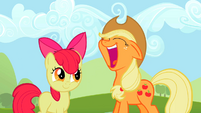 Applejack Face S2E5