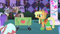Applejack about to start selling her items S1E26.png